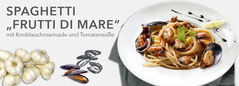 spaghetti amp quot frutti di mare amp quot mit knoblauchmarinade und
